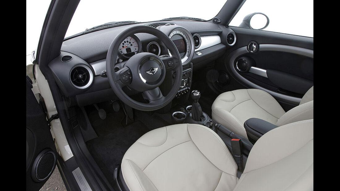 Mini Cooper D, Cockpit
