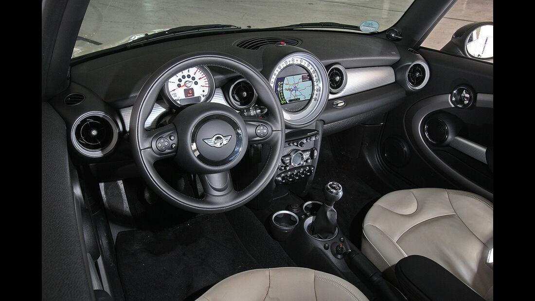 Mini Cooper D, Cockpit, Innenraum