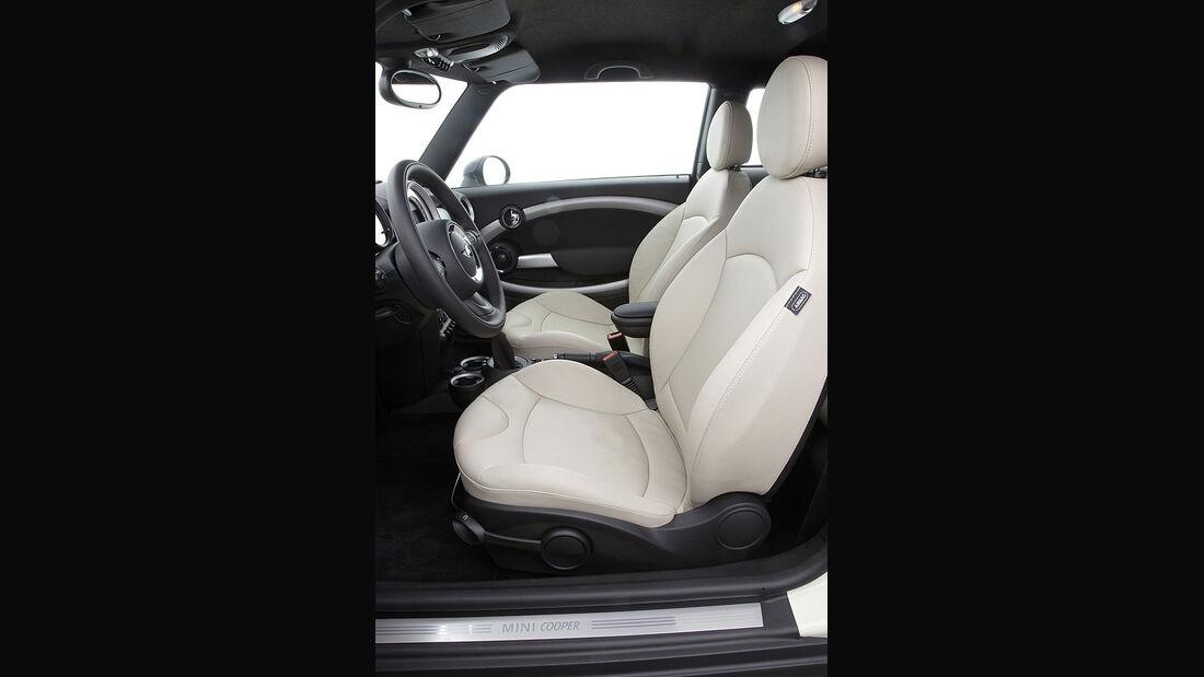 Mini Cooper D, Fahrersitz