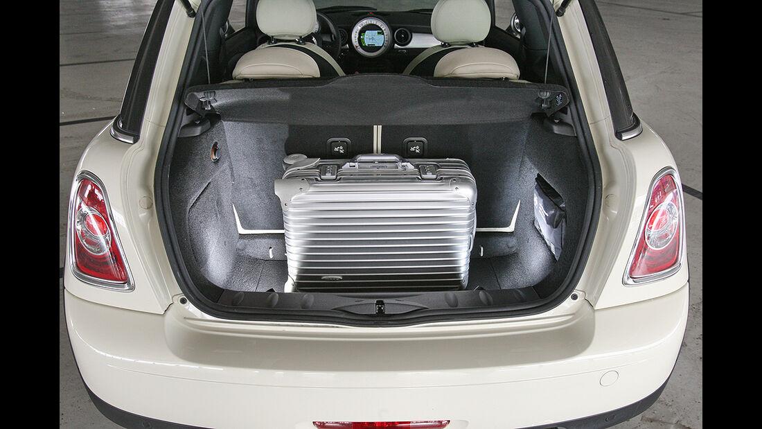 Mini Cooper D, Kofferraum