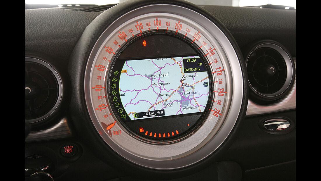 Mini Cooper D, Navigationssystem