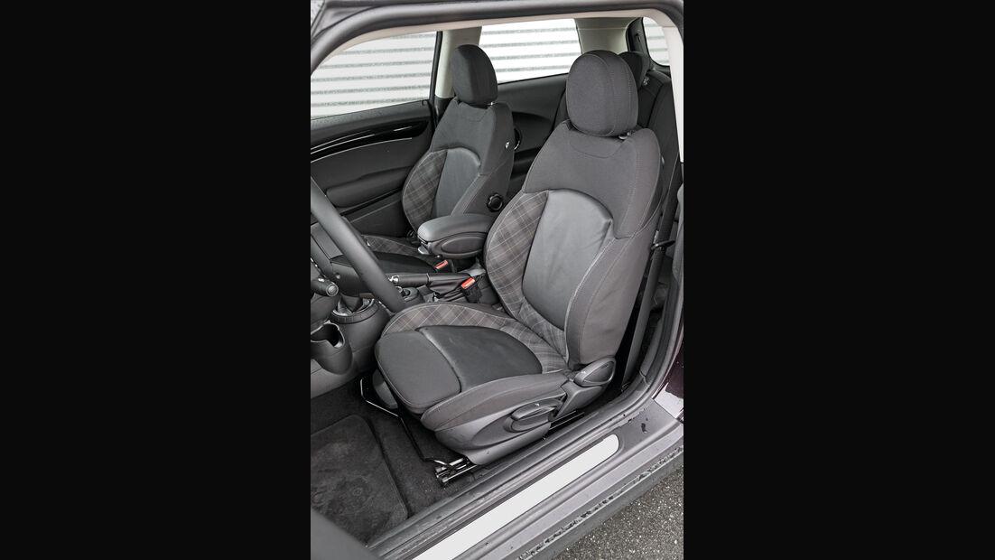 Mini Cooper, Fahrersitz