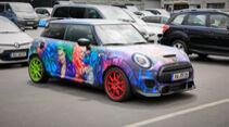 Mini Cooper - Fanautos - 24h Rennen Nürburgring - Nürburgring-Nordschleife - 4. Juni 2021