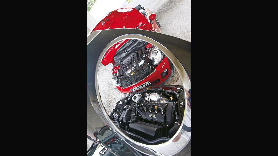 Mini Cooper JCW Cabrio, Mini JCW Roadster, Motor