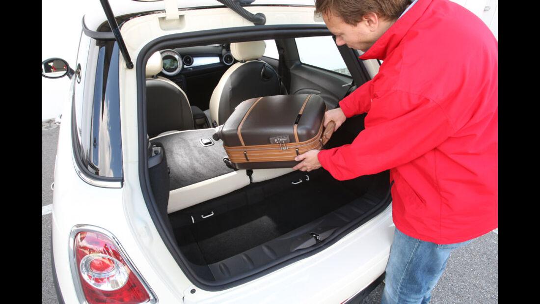Mini Cooper, Kofferraum