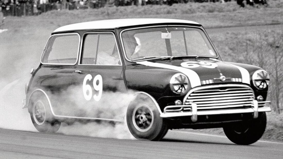 Mini Cooper Oulton Park 1965