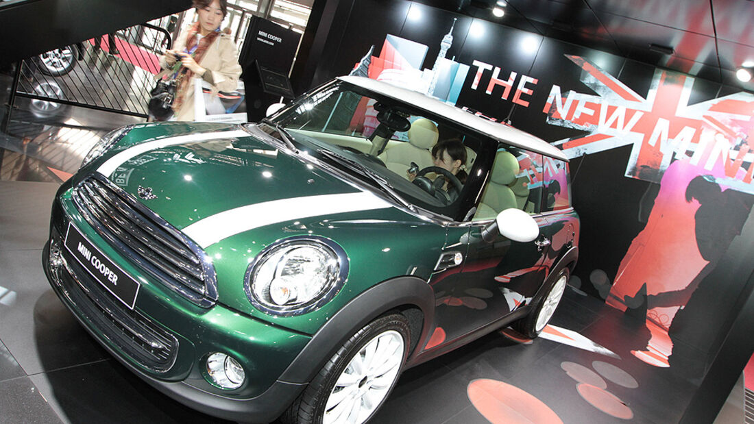 Mini Cooper, Paris 2010