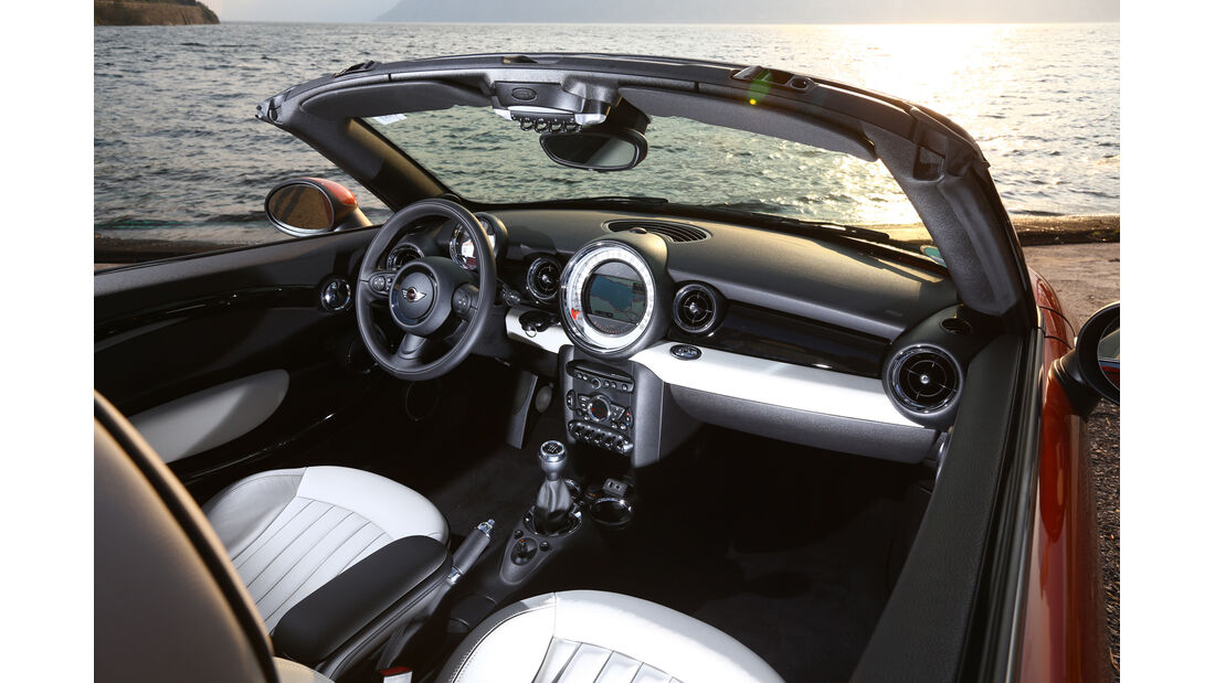 Mini Cooper Roadster, Cockpit, Lenkrad