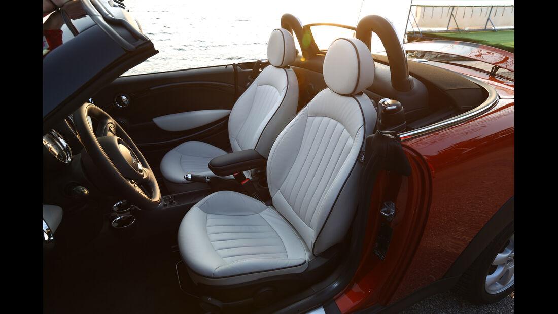 Mini Cooper Roadster, Fahrersitz