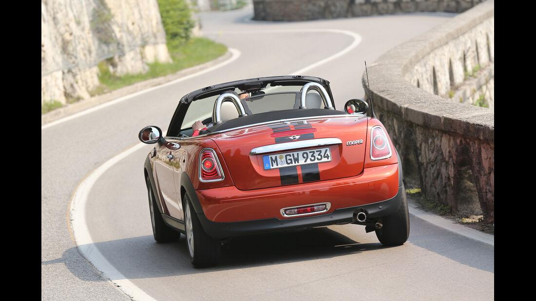 Mini Cooper Roadster, Heckansicht