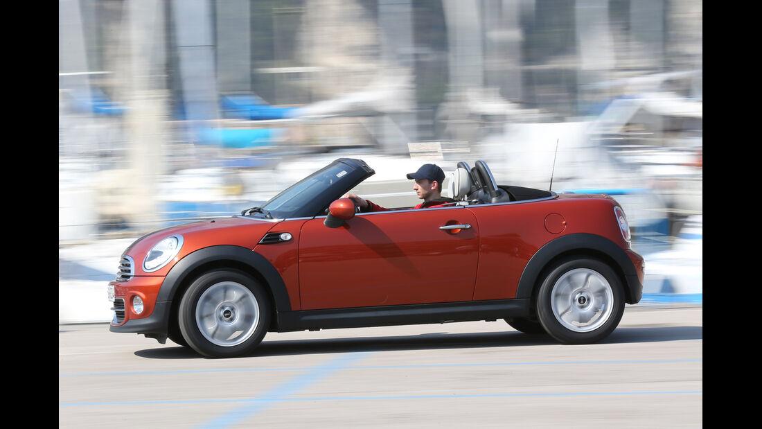 Mini Cooper Roadster, Seitenansicht
