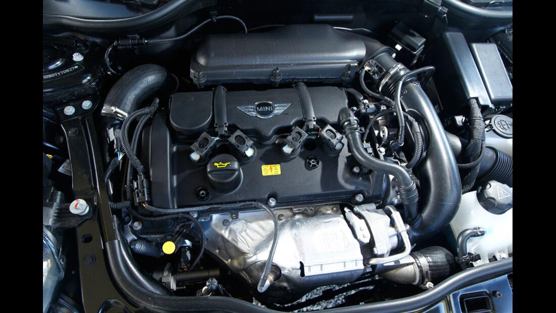 Mini Cooper S, 1,6-Liter-Turbomotor