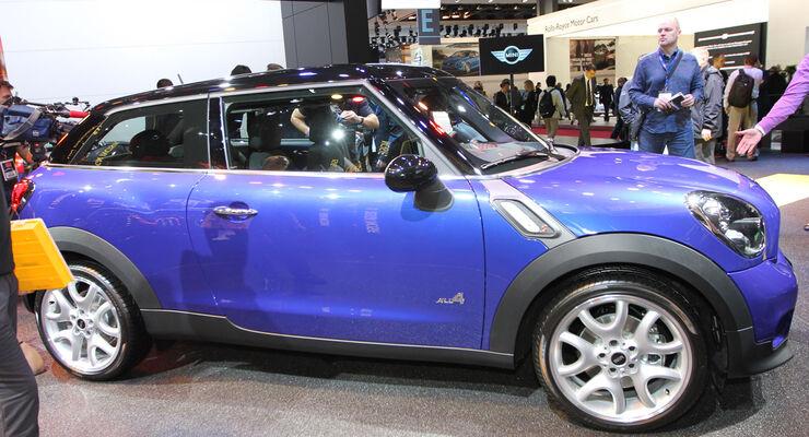 Mini Cooper S All4, Messe, Autosalon Paris 2012