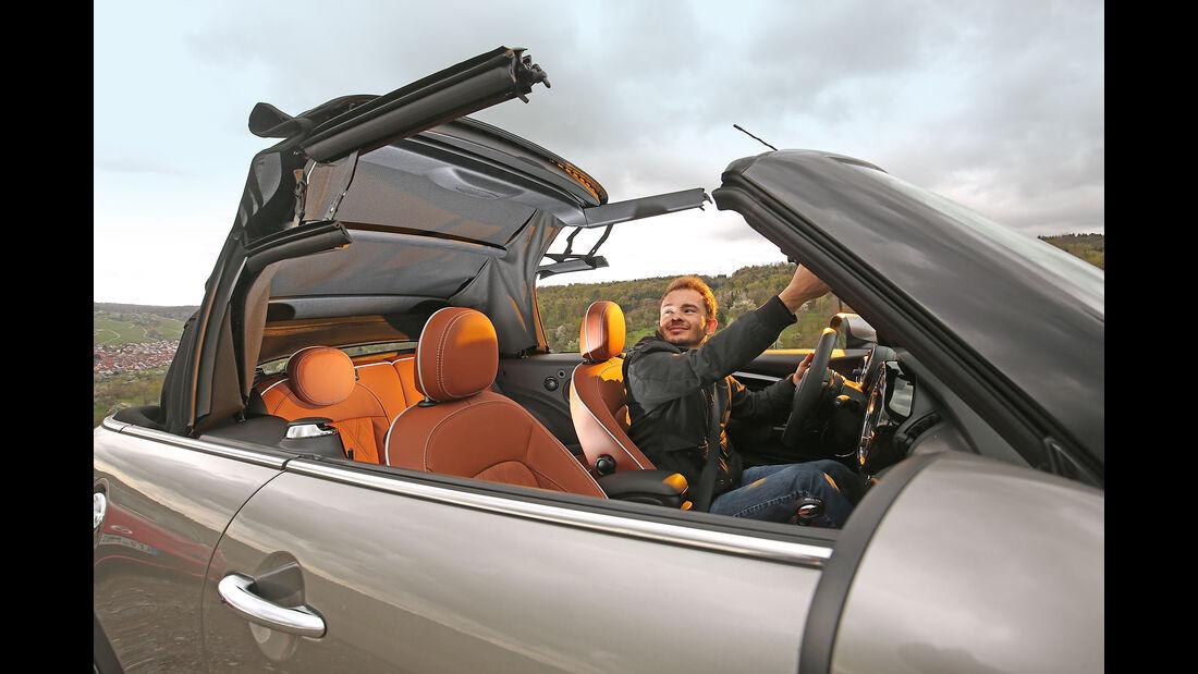 Mini Cooper S Cabrio, Dach, Verdeck