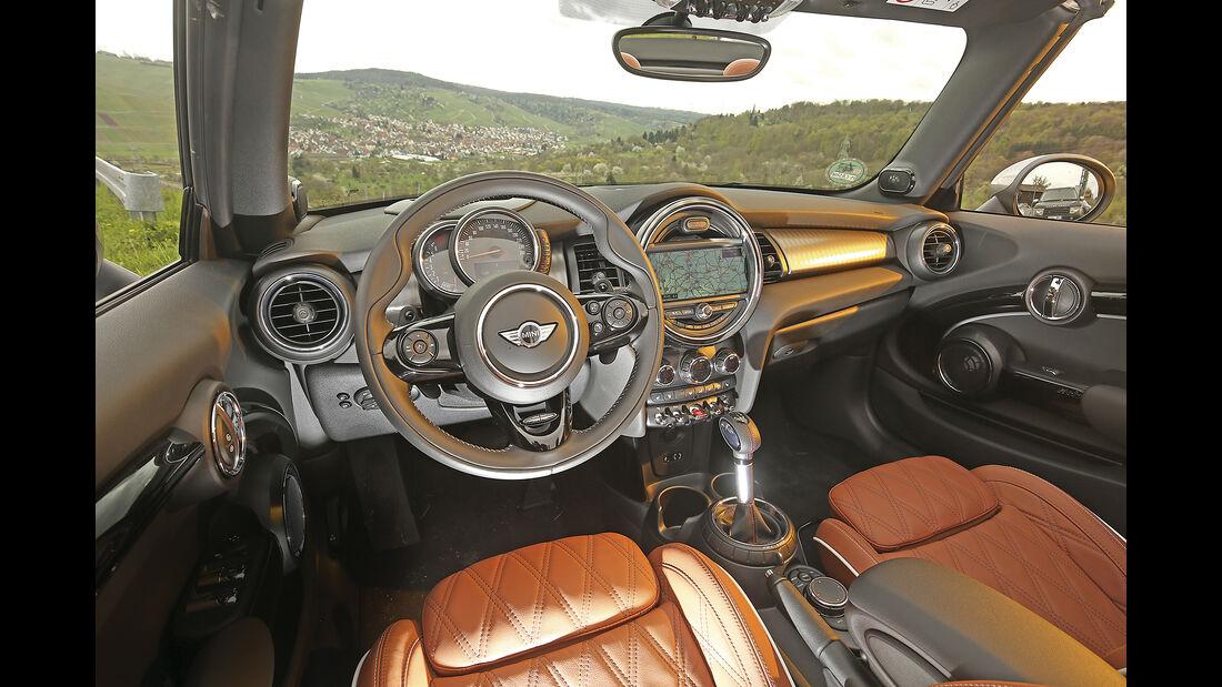 Mini Cooper S Cabrio, interieur
