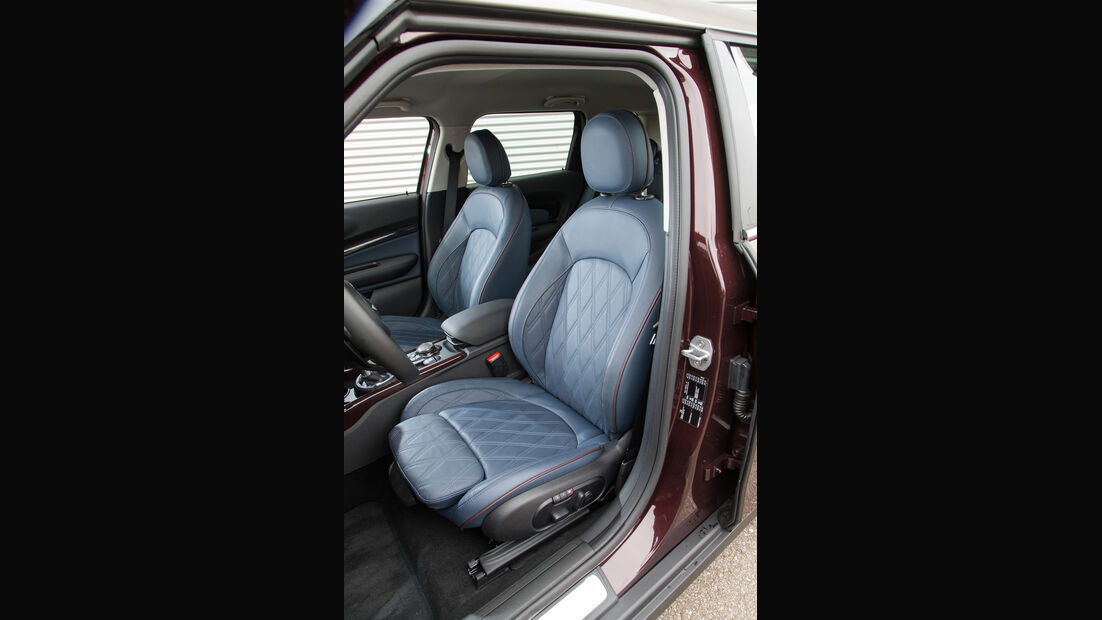 Mini Cooper S Clubman, Fahrersitz