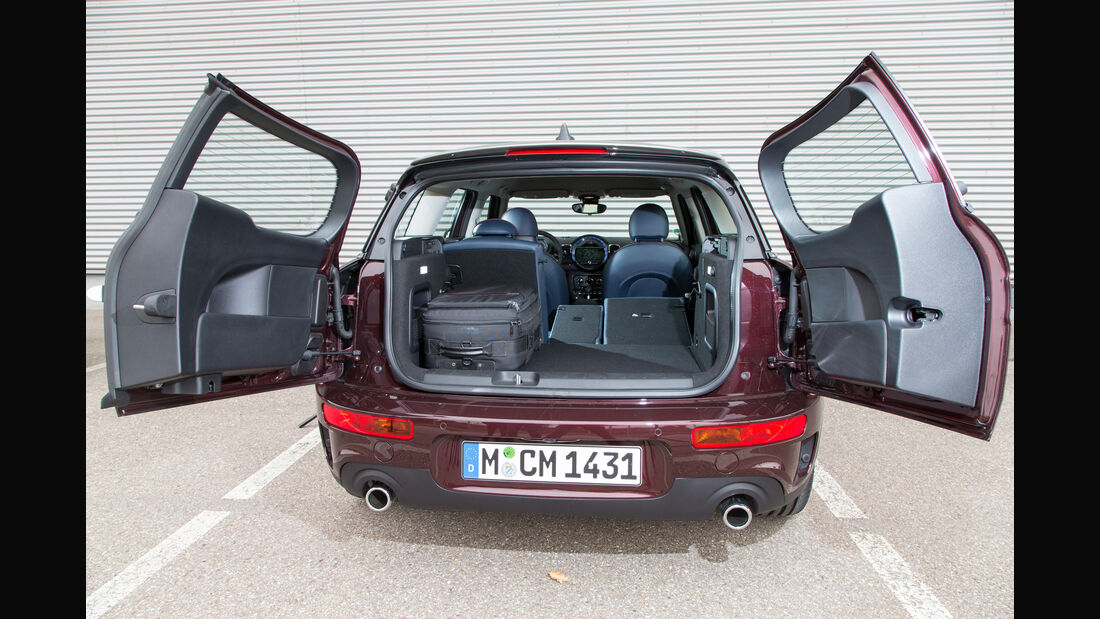 Mini Cooper S Clubman, Hecklappe