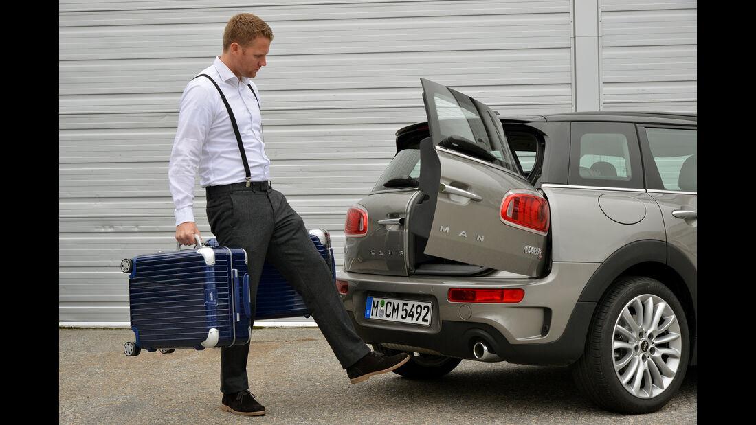 Mini Cooper S Clubman, Kofferraum, Heckklappe