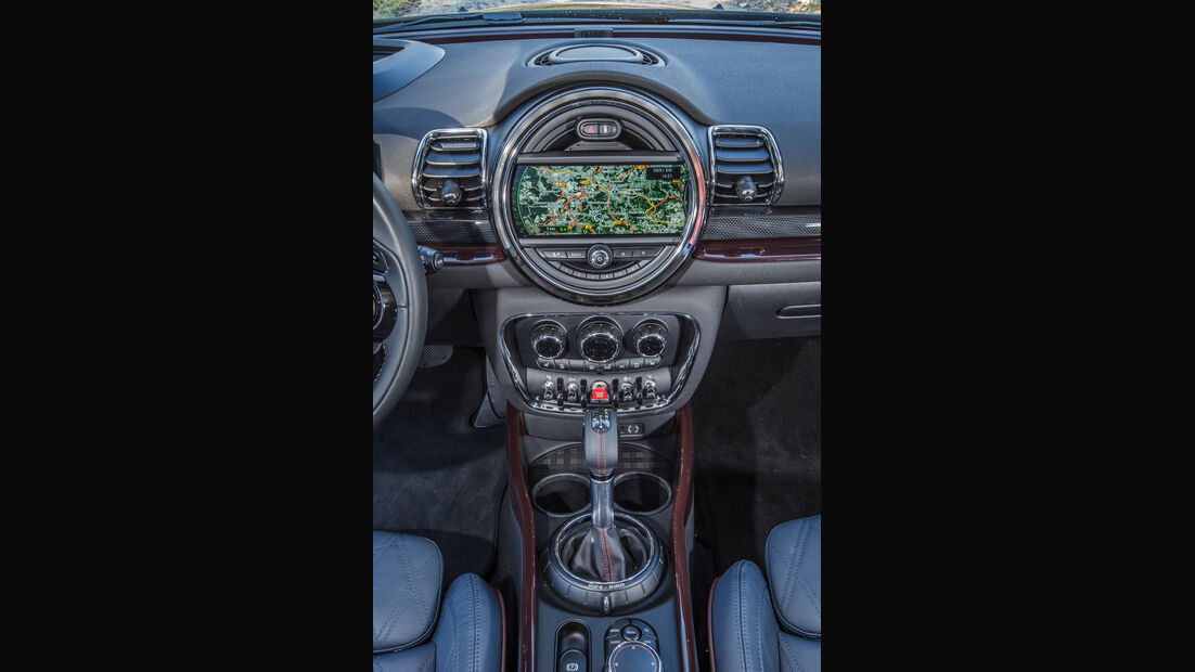 Mini Cooper S Clubman, Mittelkonsole