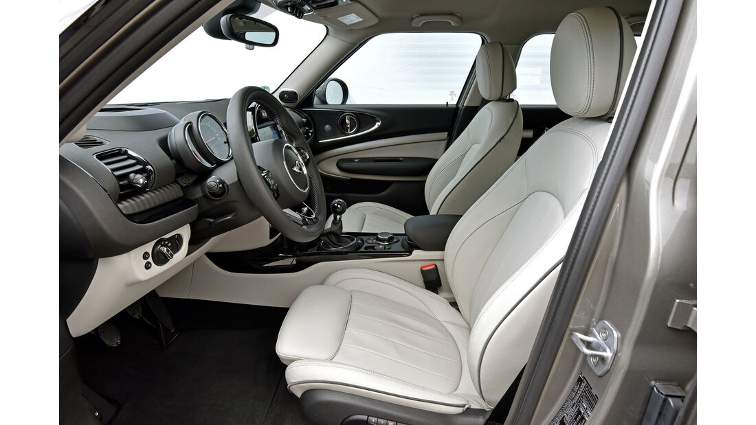 Mini Cooper S Clubman, Sitze, Interieur