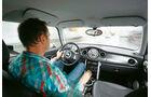 Mini Cooper S, Cockpit, Fahrersicht