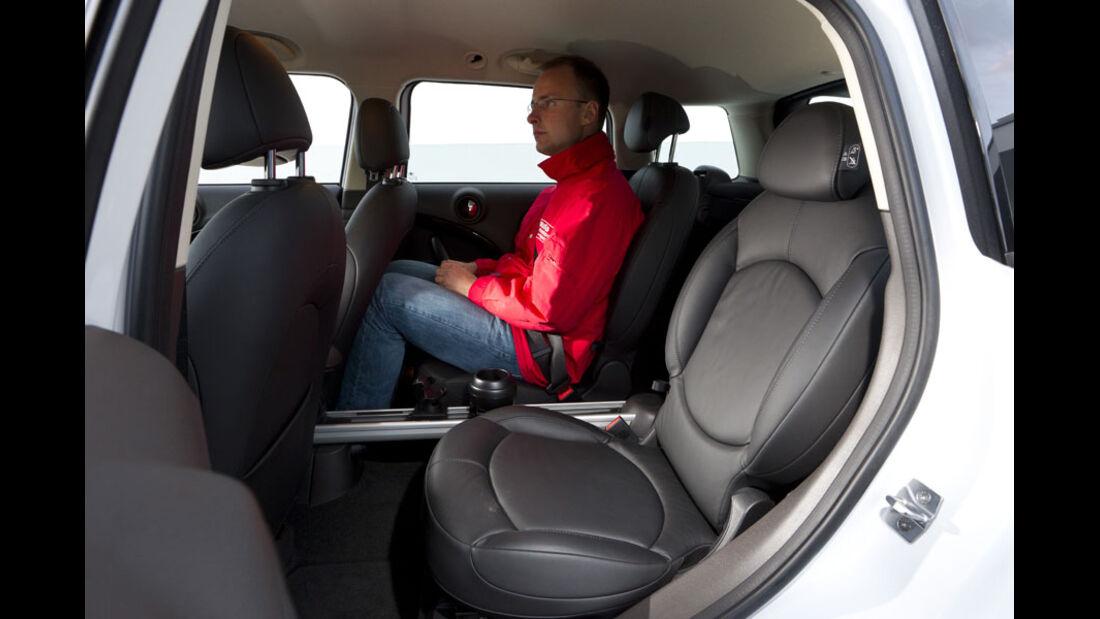 Mini Cooper S Countryman ALL4, Fond, Rückbank