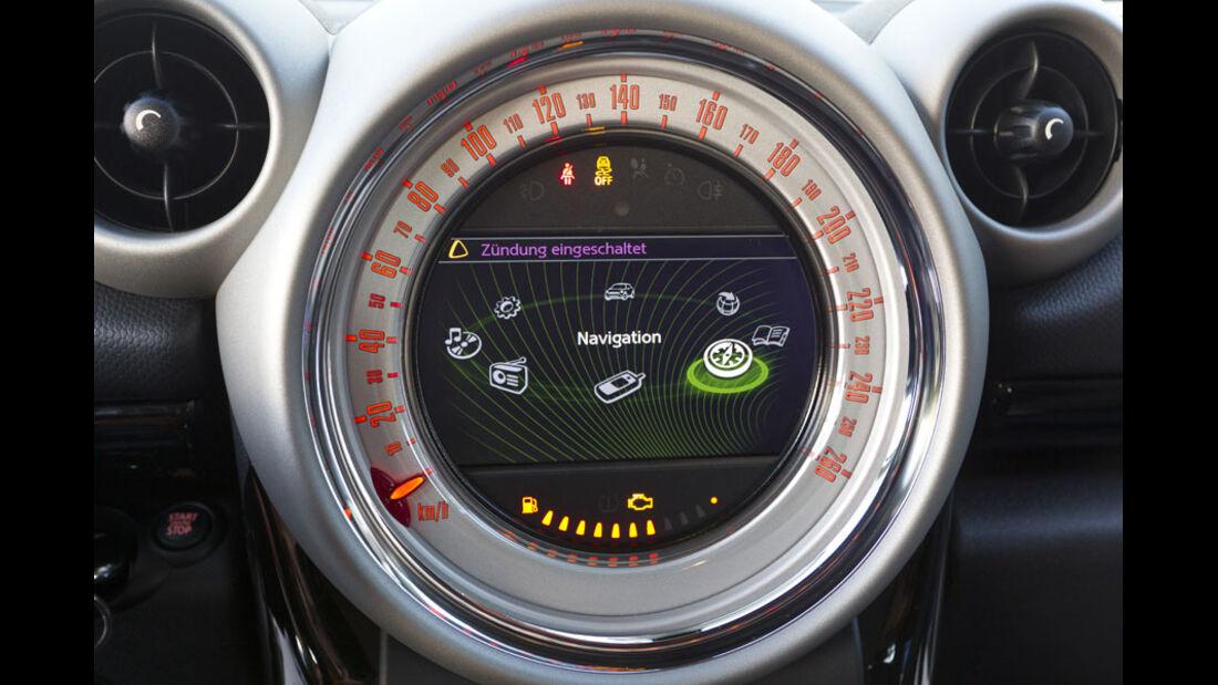 Mini Cooper S Countryman ALL4, Infotainmentsystem
