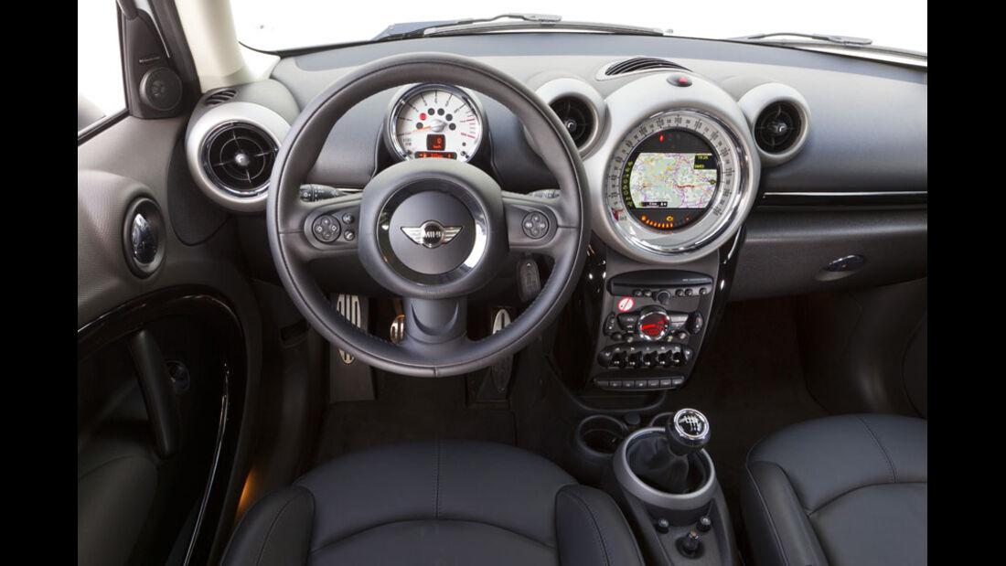 Mini Cooper S Countryman ALL4, Innenraum, Cockpit