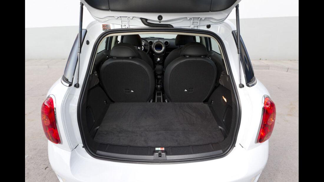 Mini Cooper S Countryman ALL4, Kofferraum