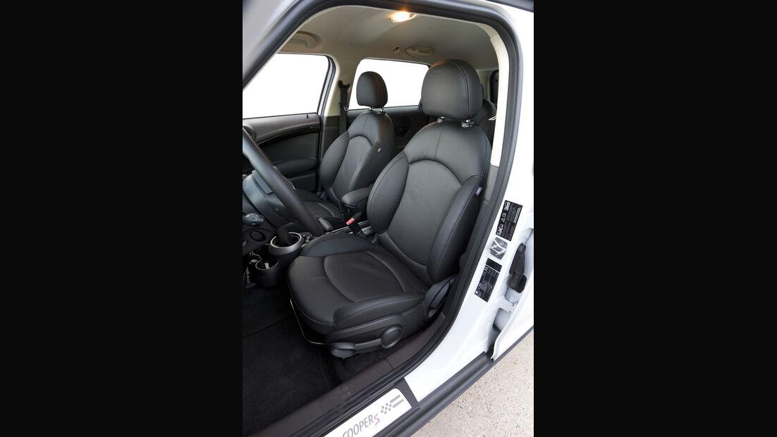 Mini Cooper S Countryman ALL4, Sitze