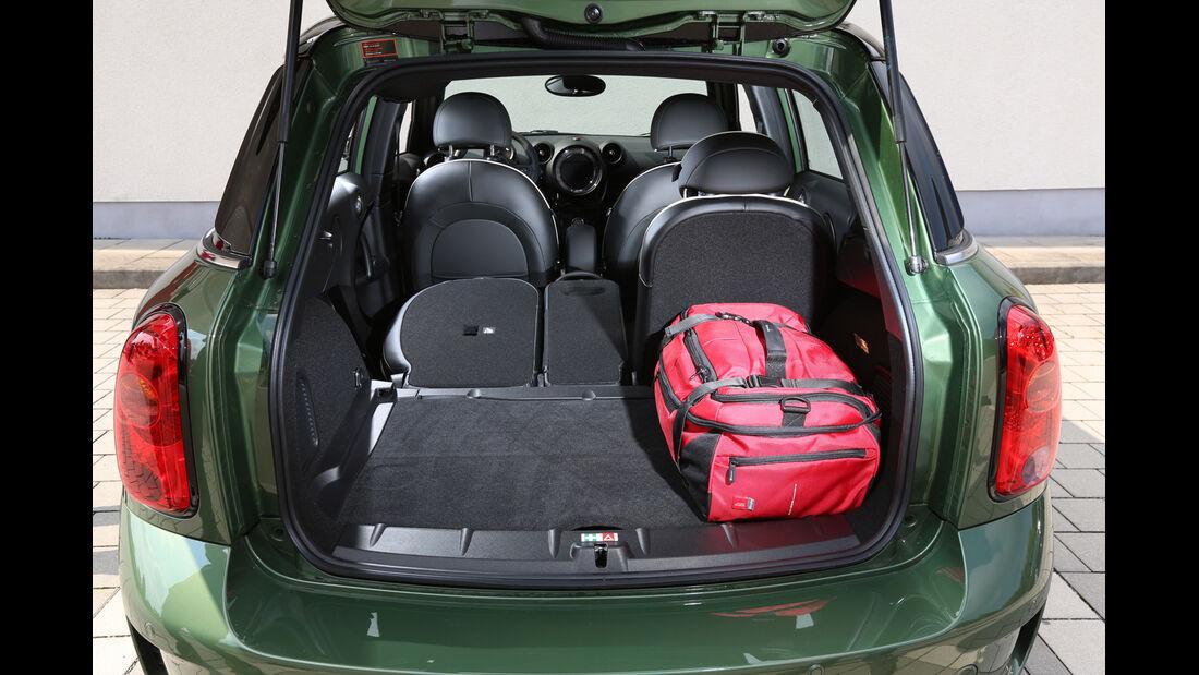 Mini Cooper S Countryman All4,  Kofferraum, Ladefläche