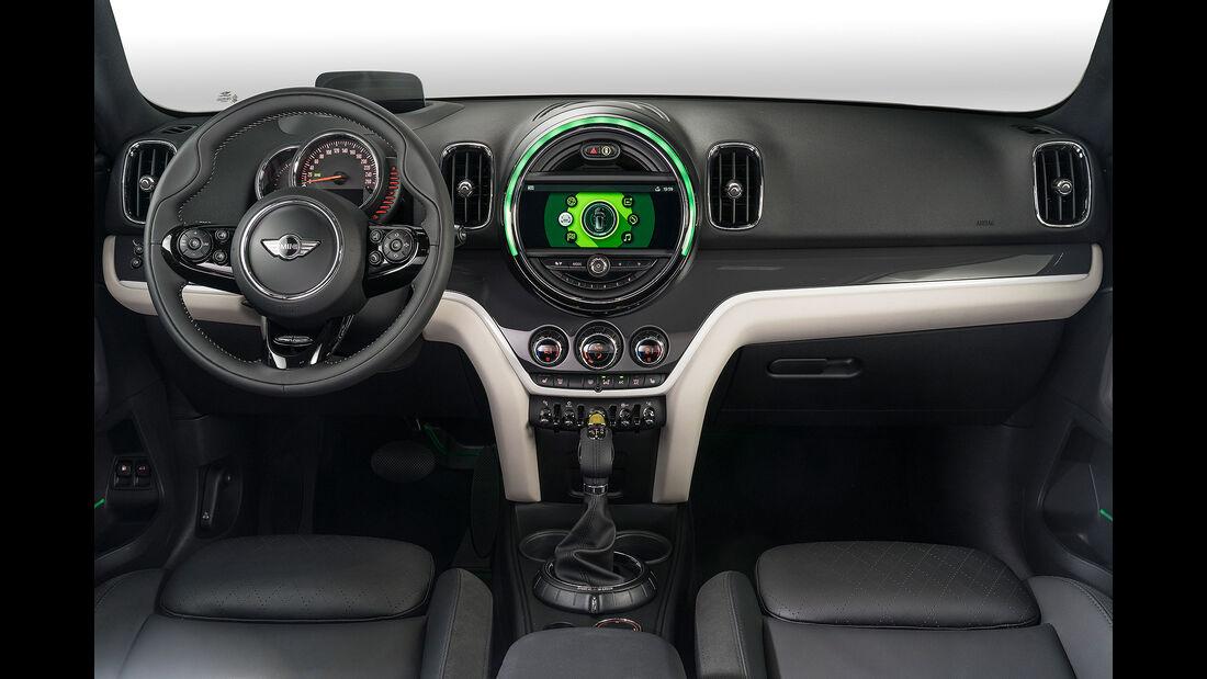 Mini Cooper S E Countryman ALL4 Plug-in-Hybrid 2017 Cockpit