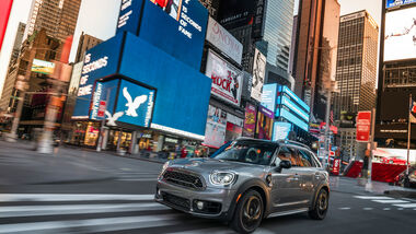 Mini Cooper S E Countryman All4, New York, Impression