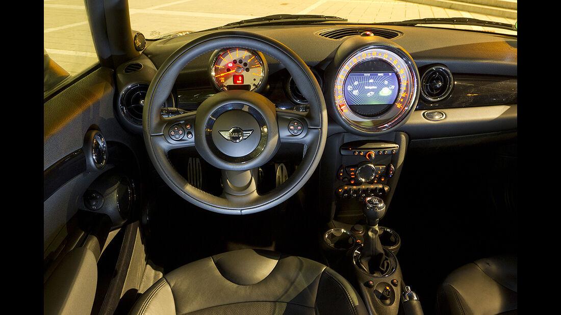 Mini Cooper S, Innenraum, Cockpit
