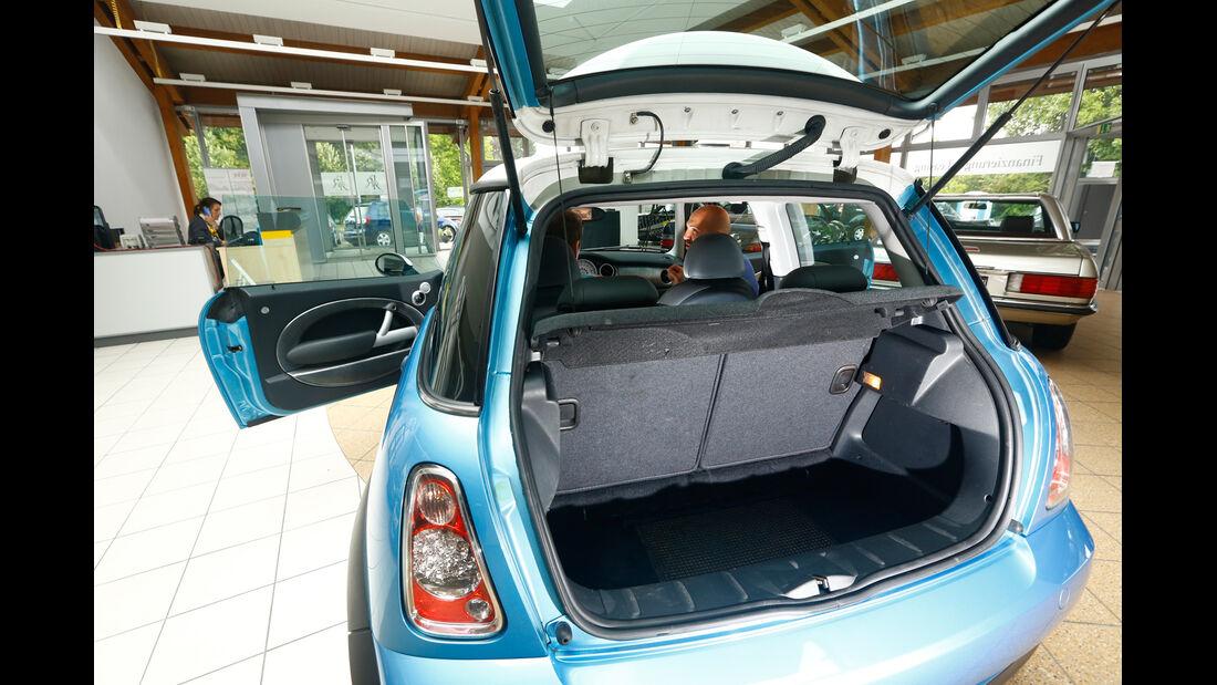 Mini Cooper S, Kofferraum