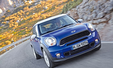 Mini Cooper S Paceman, Frontansicht