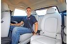 Mini Cooper S Paceman, Rücksitz, Beinfreiheit