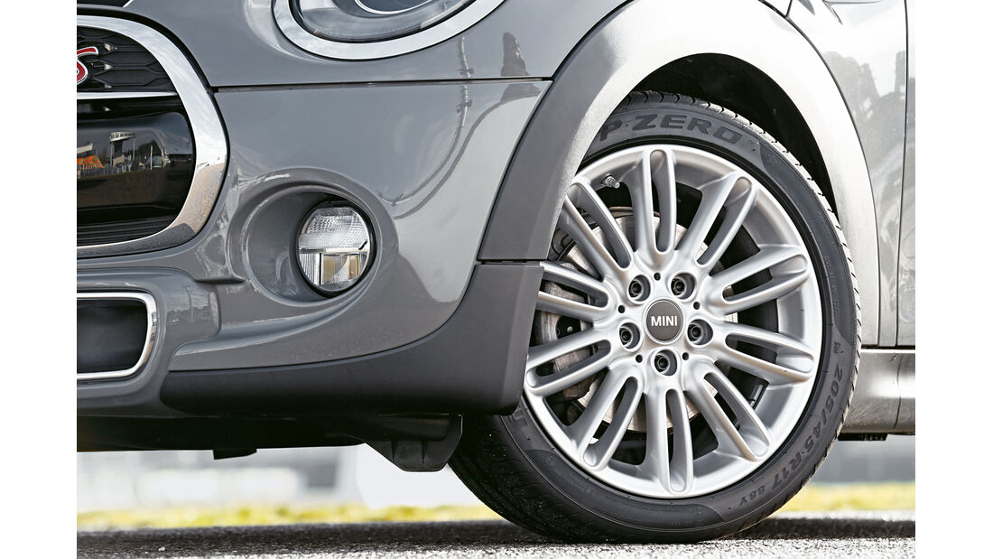 Mini Cooper S, Rad, Felge