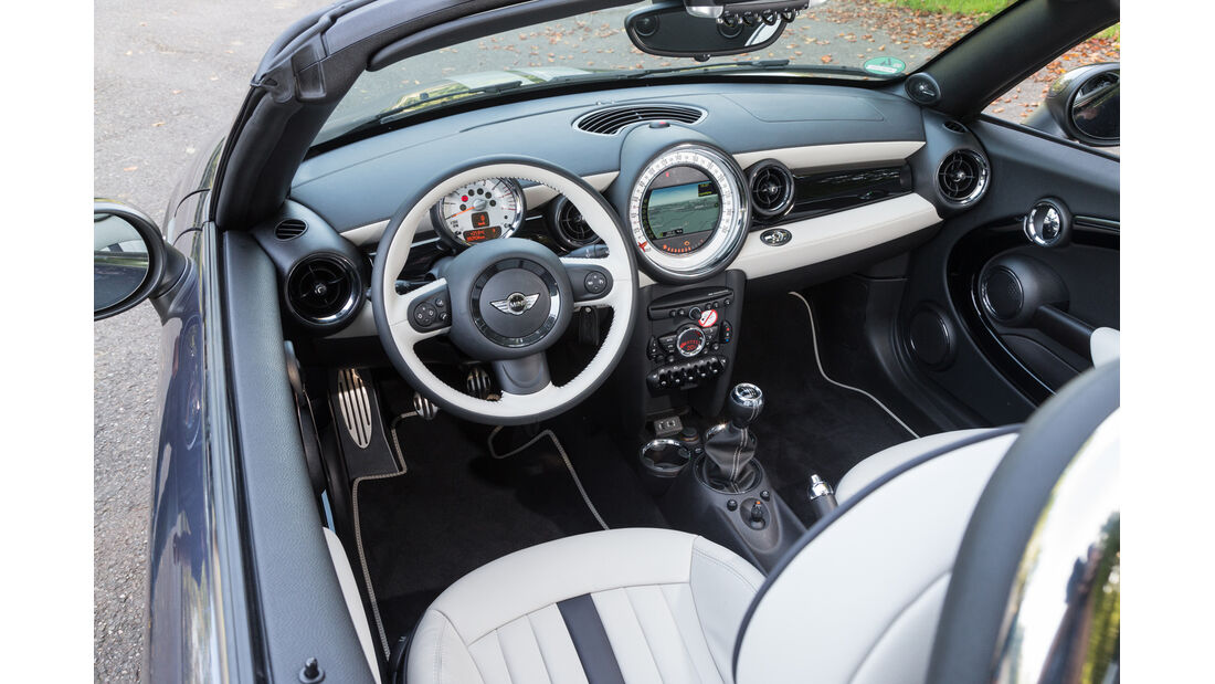 Mini Cooper S Roadster, Cockpit