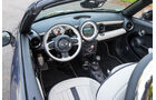 Mini Cooper S Roadster, Cockpit