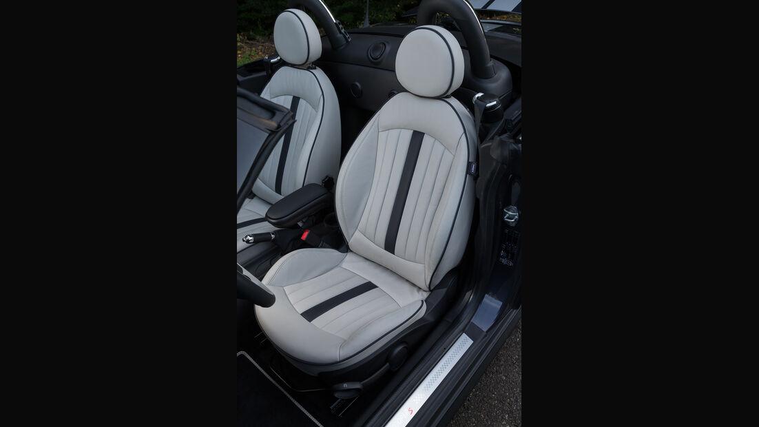 Mini Cooper S Roadster, Fahrersitz