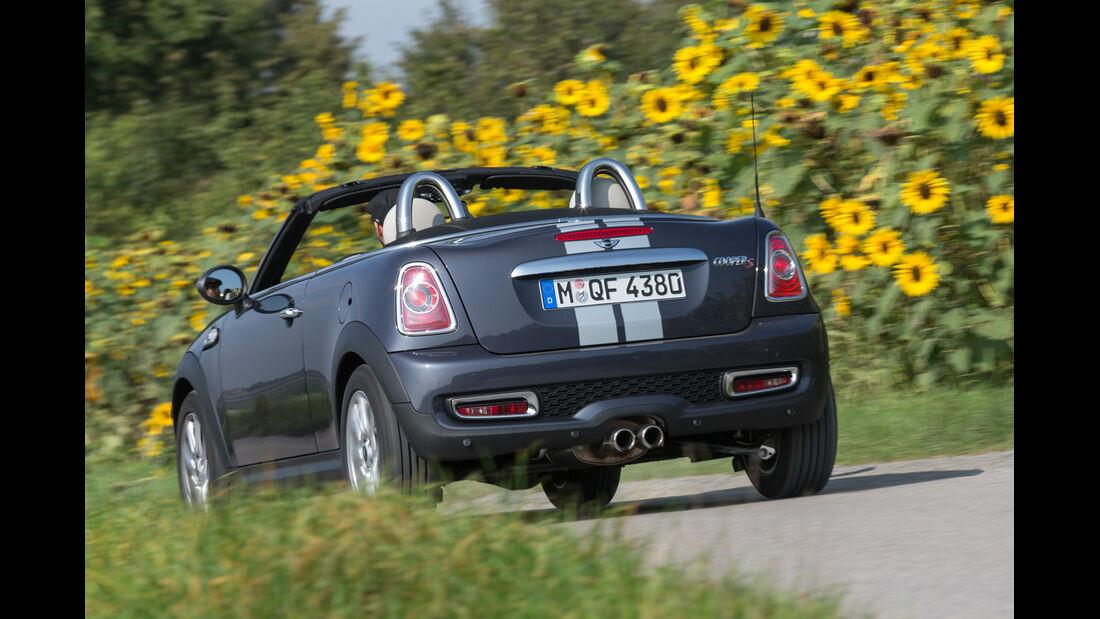 Mini Cooper S Roadster, Heckansicht