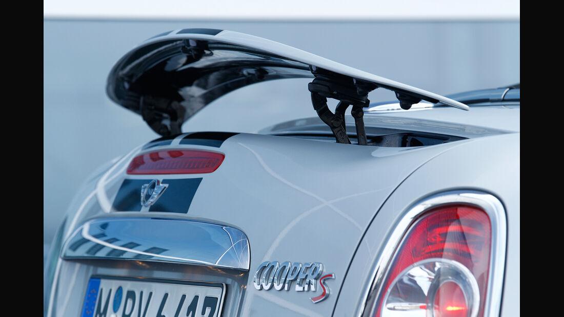 Mini Cooper S Roadster, Heckspoiler