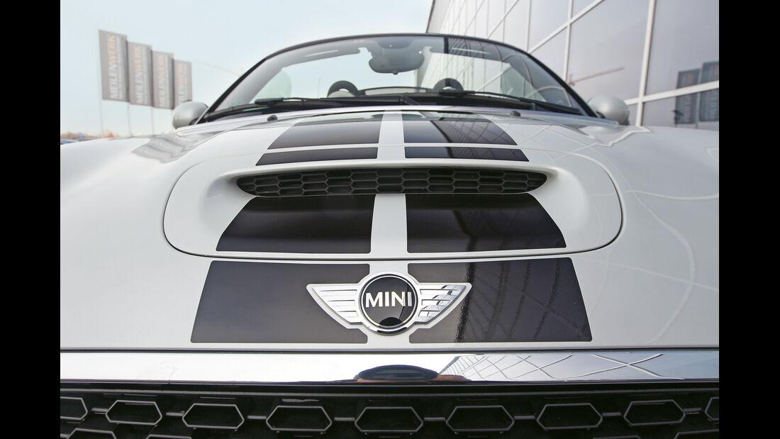 Mini Cooper S Roadster, Motorhaube