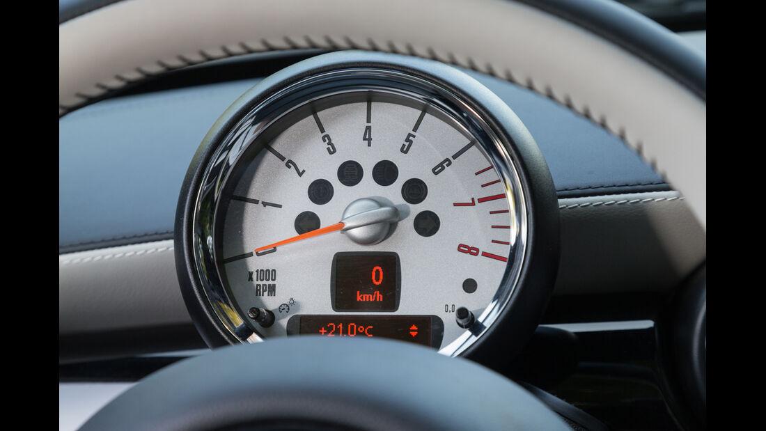 Mini Cooper S Roadster, Rundinstrument