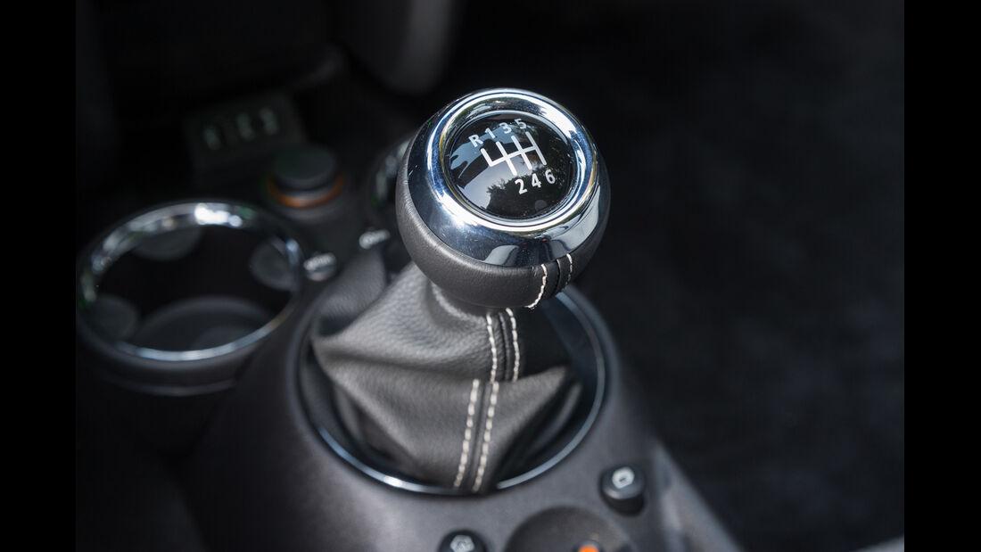 Mini Cooper S Roadster, Schalthebel