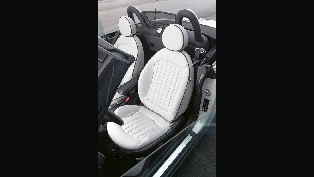 Mini Cooper S Roadster, Sitze