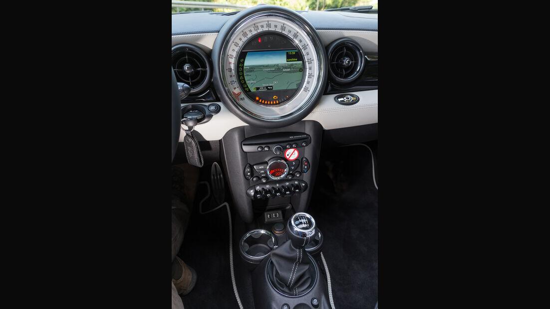 Mini Cooper S Roadster, Zentralinstrument