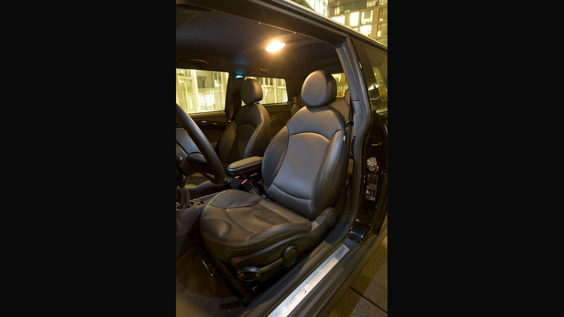 Mini Cooper S, Sitz