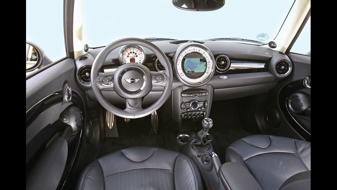 Mini Cooper SD Clubman, Cockpit